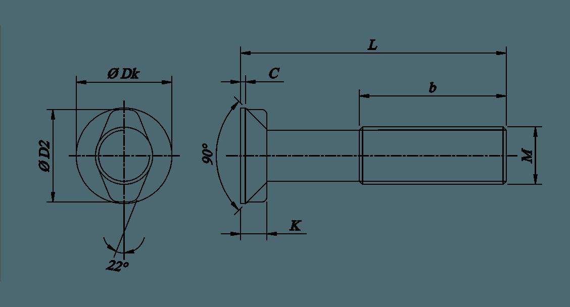 Vite ISO 5713