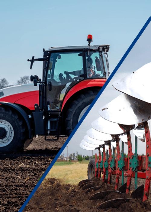 settore agricolo trattori aratri